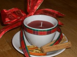 Nattynicnac's Homemade Tea Cup Candle