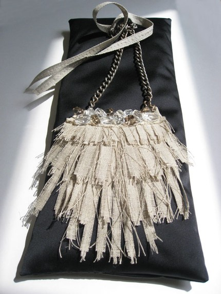 complex handcrafted statement necklace