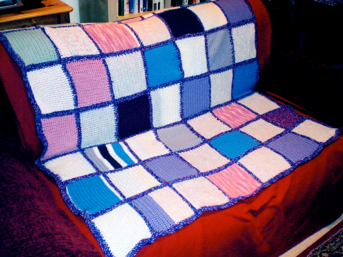 Caroline: Patchwork Crochet Blanket